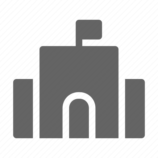 Elementary, school, university, building icon - Download on Iconfinder