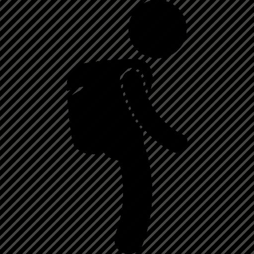 bag, boy, child, children, kid, school, student icon