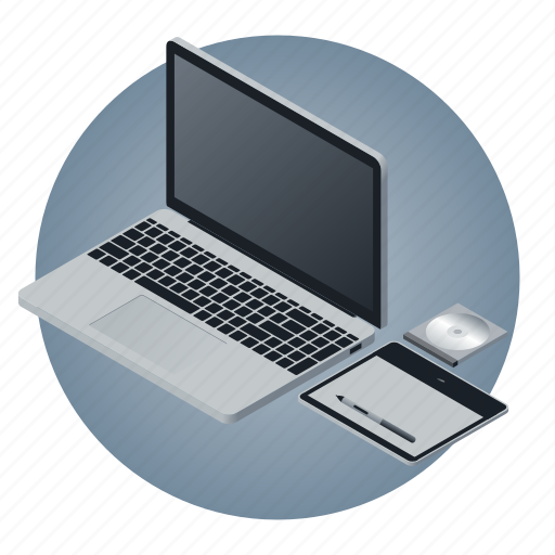 computer, education, informatics, laptop, notebook, school, subject icon