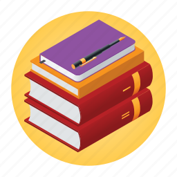 books, education, literature, pen, reading, school, subject icon