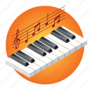 audio, music, note, piano, play, school, sound icon