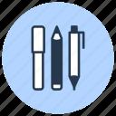 pen, pencil, school, stationery, study, supplies