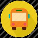 bus, college, school, student, transport