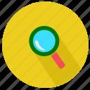 lens, magnifier, magnifying glass, maximize, minimize, research, school