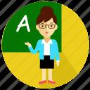 female, knowleage, professor, sexy, study, teacher, woman icon