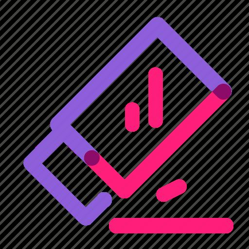 eraser, finder, multiply, school, upload icon