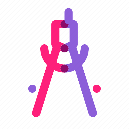 jangka, measure, multiply, school, student, tools icon