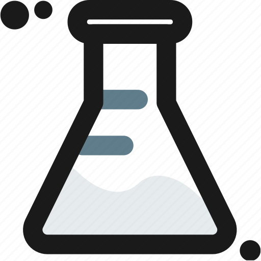 conical, experiment, flask, lab, laboratory, measure, test icon