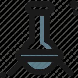 experimental, flask, lab, laboratory, measure, test icon