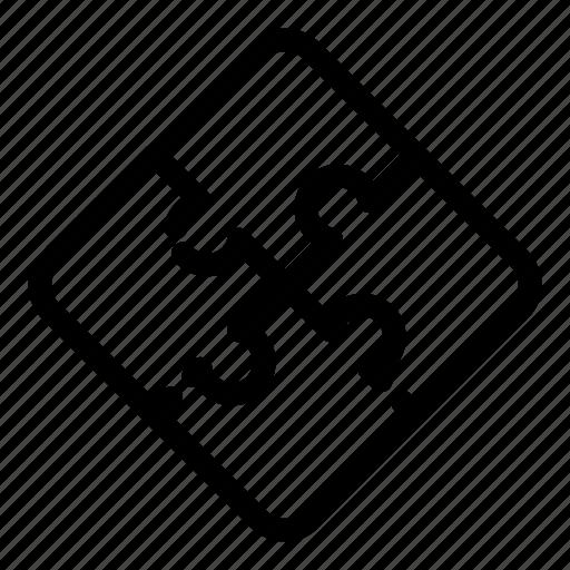 business, idea, jigsaw, part, piece, puzzle, teamwork icon
