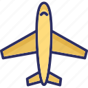 aeroplane, airbus, airplane, flight icon