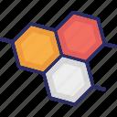 geometric pattern, hexagon shape, hexagonal pattern, hexagons icon