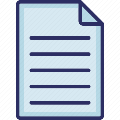 contract, document, file, note icon