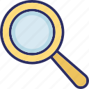 focus, magnifier, magnifying glass, search icon