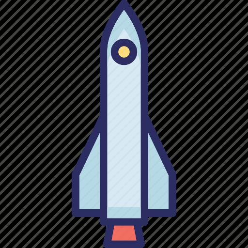 exploration, missile, rocket, science icon