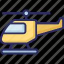 aid, air rescue, chopper, emergency flight icon