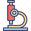 lab scope, microscope, telescope, vision icon
