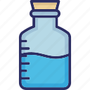 bottle, drugs, lab jar, medicine bottle icon