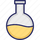 conical flask, elementary flask, erlenmeyer flask, flask stand icon