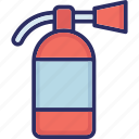 extinguisher, fire extinguisher, fire safety, fireman icon