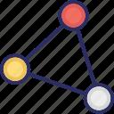 atom, chemistry, electron, energy icon