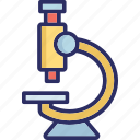 experiment, lab equipment, laboratory, microscope icon