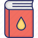 chemistry book, guide book, manual, research book icon