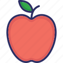 apple, food, fruit, healthy diet icon