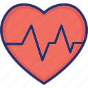 healthcare, heart rate, heartbeat, lifeline icon