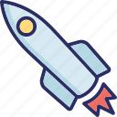 install, rocket, security, startup icon