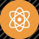 atom, molecular, molecule, molecule symbol icon