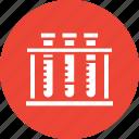 culture tube, experiment, lab accessories, lab glassware icon