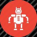advanced technology, bionic robot, robot, robot face icon