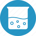beaker, experiment, lab test, measuring cup icon