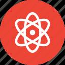 atom, molecule, orbitals, orbits icon