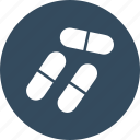 capsule, drugs, medical pills, medications icon