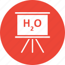 chemistry formula, chemistry of water, h2o, h2o formula icon