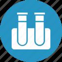 beaker, culture tube, lab glassware, laboratory icon