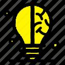 bulb, idea, science