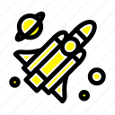 fly, missile, science icon