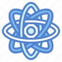 astronomy, atom, science, space icon