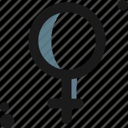 females, feminine, gender, girl, sex, sexuality, woman icon