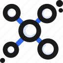 atom, connect, molecule icon