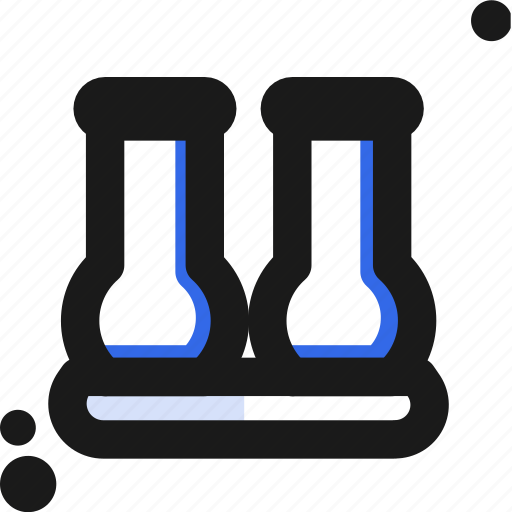 experiment, laboratory, measure, test icon
