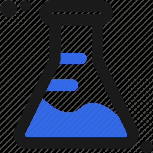 experiment, lab, laboratory, measure, substance, test icon