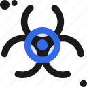 bio, biological, chemistry, chemo, contamination, medical, substance icon