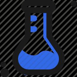biology, experiment, lab, laboratory, measure, test icon