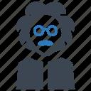scientist, professor, einstein icon