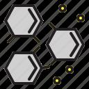 chemistry, biology, molecular, science, physics icon