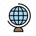 earth, education, geography, globe, school, toy, world icon